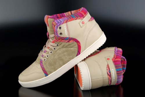 OŽNEILL Chaussures Femmes - Sneaker MOBE Sable
