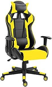 كرسي قيمنق سي 599 عالي الظهر من ماهاماي، كرسي كمبيوتر من جلد البولي يوريثين، مقعد مكتب الكمبيوتر لالعاب السباق