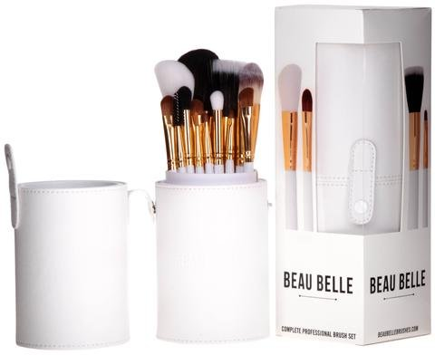 Beau Belle Pinselset - Pinselhalter - Pinsel Set - Pinsel Behälter - Pinsel Set Schminke - Make Up Pinsel - Make Up Pinsel Set - Make Up Pinsel Halter - Makeup Brushes - Makeup Brush Holder