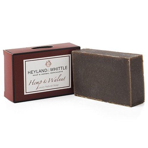 Heyland&Whittle Naturseife Hanf und Nuss 95 g -