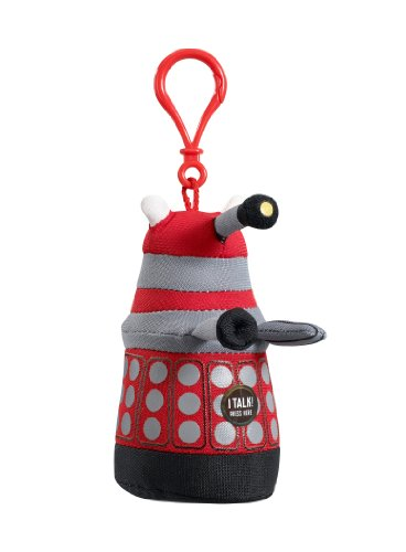 ni Dalek Talking Plüsch ClipOn (rot) ()