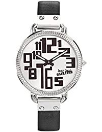 Reloj mujer JEAN PAUL GAULTIER–Index–Pulsera Piel Negro–36mm–8504305