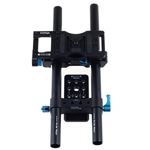 FOTGA DP500IIS 15mm sistema di supporto ferroviario per il follow fuoco casella Matte nel cinema (Sistema Ferroviario)