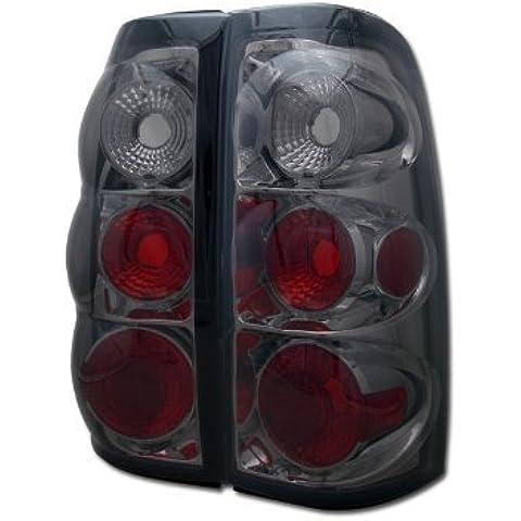 Smoke Tint Altezza Tail Lights lampadine freno L R Chevy Silverado Pickup dal topline_autopart