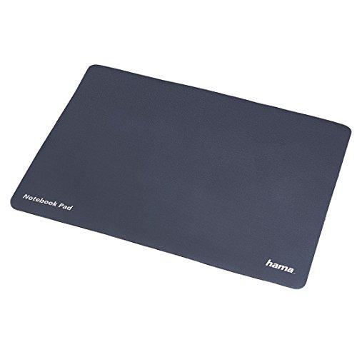 Hama 3in1 Pad für Notebooks - Display-Schutz, Mauspad und Reinigungstuch in Einem (für 29,5cm/11,6 Zoll Laptops; einsetzbar als Bildschirm-Schutztuch/Maus-Unterlage/Mikrofaser-Tuch) anthrazit