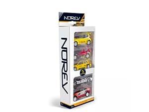 Norev - Voiture miniature -  Coffret 5 Voitures+Acc.Racing