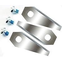 12lame di coltello di ricambio per Bosch Indego 4Set (3pezzi) = 12Scharf–reversibile 9su