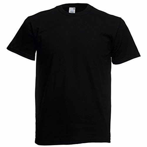 Fruit of the Loom Original tee Noir