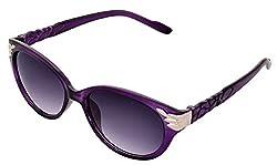 SHVAS UV Protection Cat Eye Womens Sunglasses (CATPROPURP Purple)