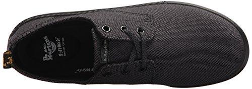Dr.Martens Womens Santanita 3-Eyelet Textile Shoes Black