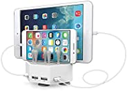 Power Dock Ultimate 4x Fast Charging Station - Compatible with iPhone/iPad/Android/Any USB