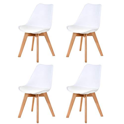 Ellexir Pack de 4 sillas