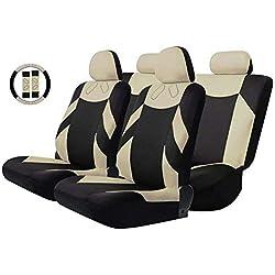 KKmoon 13PCS Universel Kit de Housse de auto Siège Cover de siège voiture Front