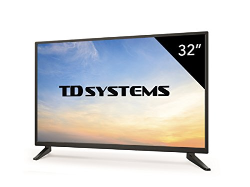 Televisores Led 32 Pulgadas HD Ready TD Systems (Resolución 1366x768/ HDMI x3/...