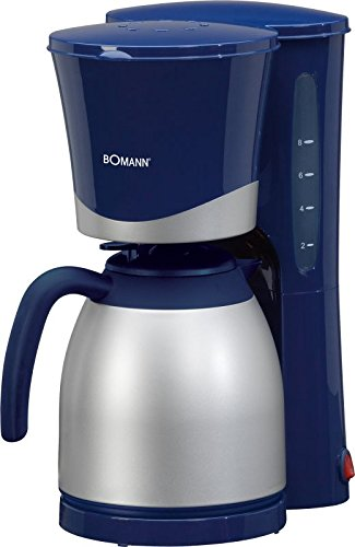 Kaffeemaschine mit Thermokanne 1 Liter (Kaffeeautomat, 870 Watt, für ca. 10 Tassen Thermokanne,...