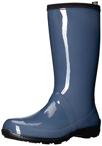 Kamik Women's Heidi Rain Boot, Blue Jeans/Denim, 7 Medium US