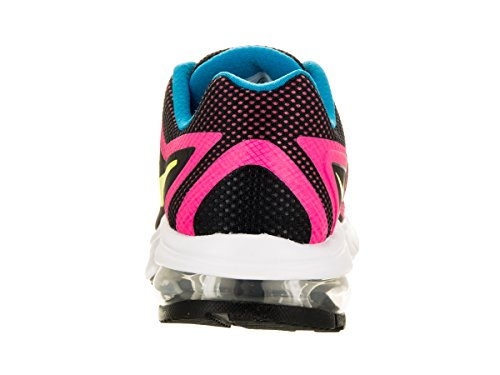 NikeAir Max Premiere Run (Gs) - Scarpe Running da ragazza' Black/Volt/Pink Pow/Photo Blue