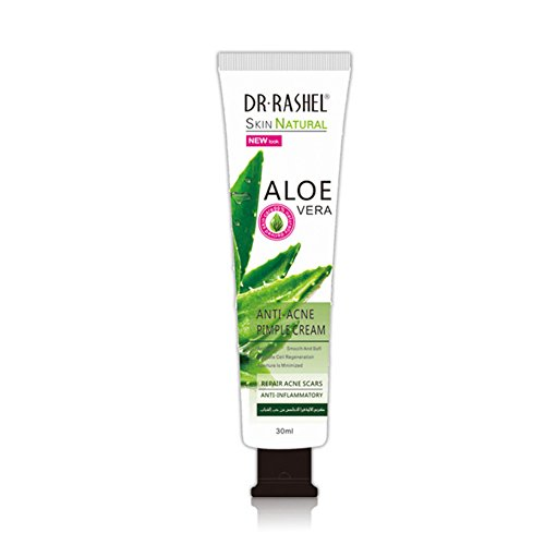 Crème d'Aloe Vera, 30ml Réparatrice Nourrissante Crème pour Visage Corps - Réapprovisionnement, Hydratant, Contrôle d'huile, Anti-acné, enlèvement de cicatrice d'acné, pimple