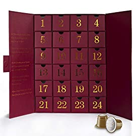 Advent Calendar with Nespresso Compatible Pods from Real Coffee. Two Capsules per Day.