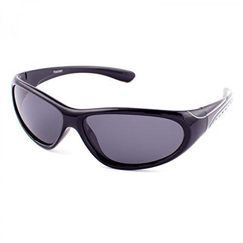 Polarisierend Kinder Sonnenbrille Polbrille Polarizird Fram Aviator New Wayfahrer , Rahmenfarbe:Schwarz