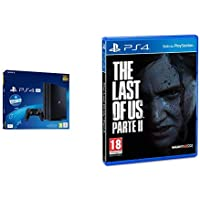Sony PS4 PRO PlayStation Gamma Chassis + PS Live Card 20€, 4K HDR, 1 TB [Esclusiva Amazon.it] + The Last of Us 2…