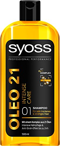 Syoss Shampoo Oleo 21 Intense Care, 3er Pack (3 x 500 ml)