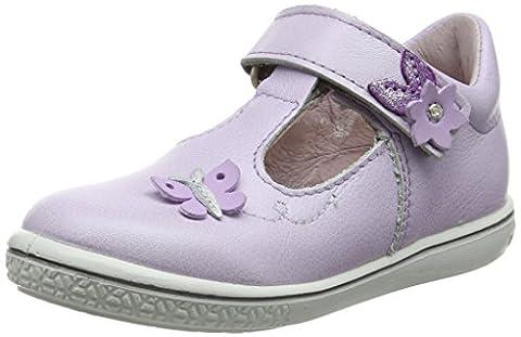 Ricosta Mädchen Candy Mary Jane Halbschuhe, Purple (Lila 314), 25