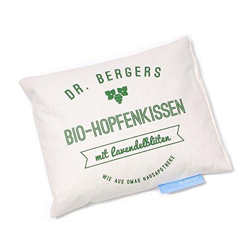 Dr. Bergers de lavande bio Houblon Coussin 20 x 25 cm