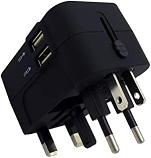 rts worldwide travel adapter, worldwide all in one universal travel adaptor wall ac power plug adapter wall charger with…