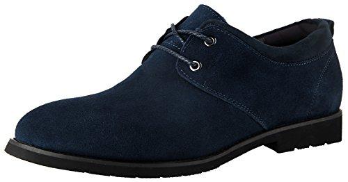 Schuhe Blau Oxfords Herrenschuhe Trachten Schnürhalbschuhe Leder Elegante Anzug Schuhe US 11