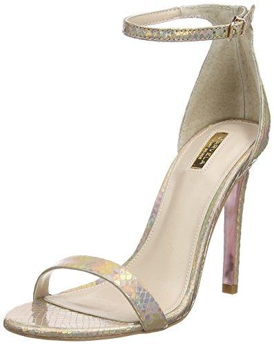 Carvela Gatsby - Scarpe con Tacco donna, colore oro, taglia 37 EU (4 UK)