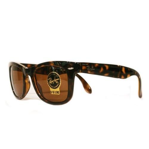 ray-ban-lunettes-de-soleil-homme-marron-ecaille-de-tortue-large