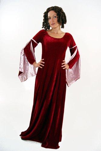 Kostüm Kleid Mittelalter Burgfräulein Gothic Romanik 44 - 3