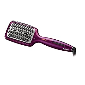 babyliss hsb100e liss brush 3d hot straightening brush ionic antistatic - 415kS7fovaL - Babyliss Ionic Smoothing Brush
