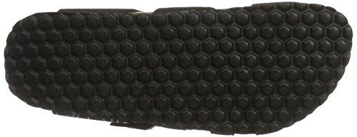 Softwaves Damen 274 147 Pantoletten Schwarz (Black Multi)