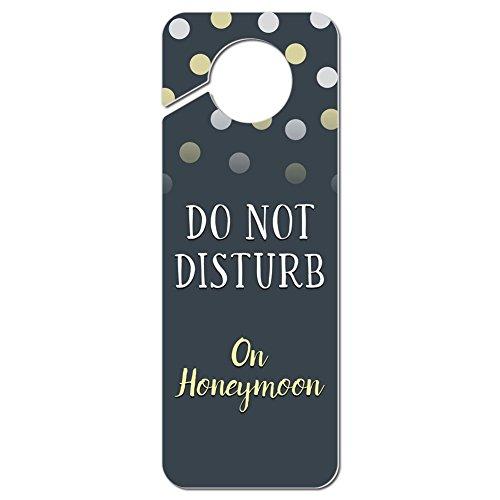 Do Not Disturb auf Honeymoon Kunststoff Türknauf Hanger Schild
