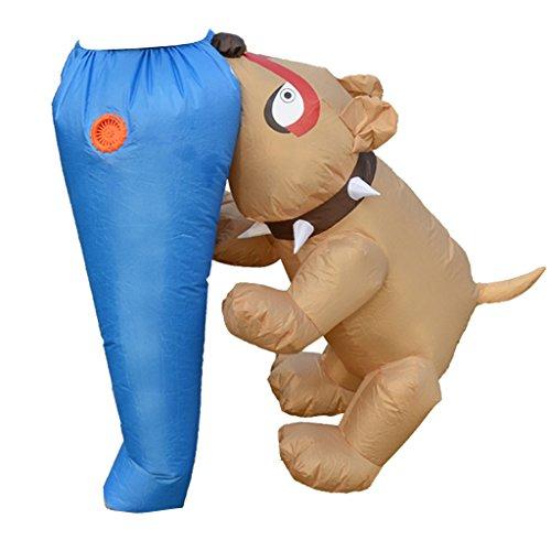 Für Kostüm Hunde Fett - Homyl Komisch Hund Aufblasbares Kostüm Fatsuit Faschingskostüm Cosplay Kostüm, Leicht und Bequem