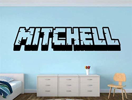 daufkleber Schlafzimmer Creative Home Decor Minecraft Dekor für Wohnzimmer Schlafzimmer ()