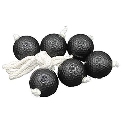 Egosy Leiter werfen Ball Ersatzleiter Bälle Golf Training Sport String Bälle (Sport-golf-bälle)