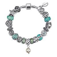 Mestige Bracelet with Swarovski Crystals for Women, MSCB3092