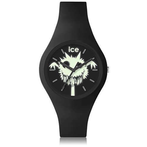 Ice-Watch - ICE ghost Creepy Ghost - Montre noire mixte avec bracelet en silicone - 001446 (Small)