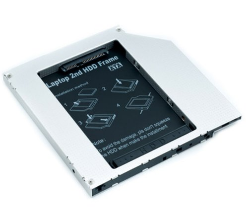 CADDY SECONDO HARD DISK HD SSD NOTEBOOK 9.5 MM SATA TO SATA DRIVE