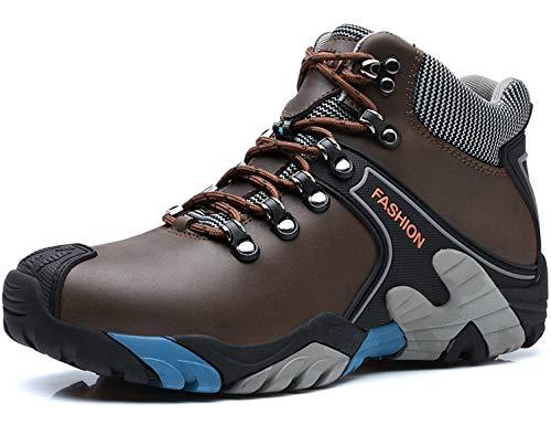 SINOES Herren Wanderschuhe High Top Trekking-Schuhe Rutschfeste Atmungsaktive Wanderschuhe Trekking-Sneaker (Für Erwachsene Kitty-schuhe Hello)