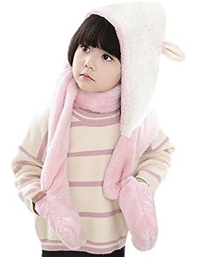 Afinder - Set de bufanda, gorro y guantes - para niña
