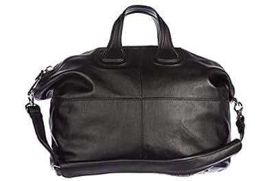 Givenchy sac à main homme en cuir vintage nightingale noir