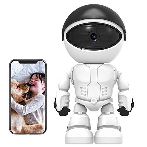 WSXX Drahtlose Überwachung, 1080P, Heim-Handy-WiFi-Netzwerk-Remote-Roboter-Kamera, HD-Nachtsicht-Innenmonitor