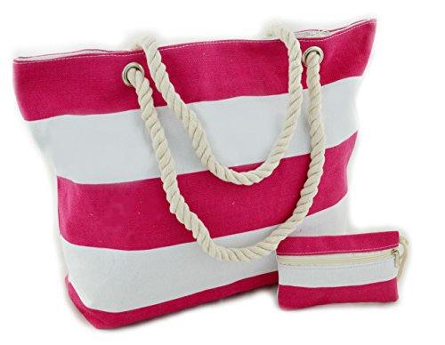 frontline-bolsa-de-playa-negro-rosa