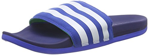 adidas Adilette Supercloud Plus, Herren Slipper, Blau (Blue/Ftwr White/Midnight Indigo F15), 47 EU