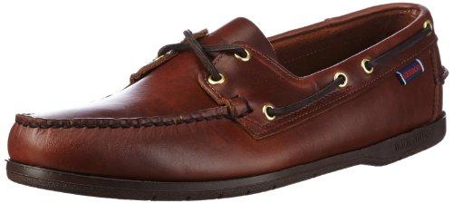 Sebago Herren Endeavor Bootschuhe, Braun-Gummi, 46.5 EU - Dockside Casual Schuhe