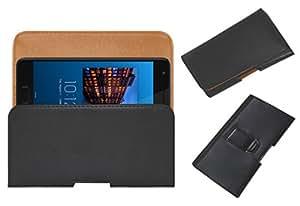 Acm Belt Holster Case For Lenovo Zuk Z2 Plus Mobile Leather Cover Clip Black